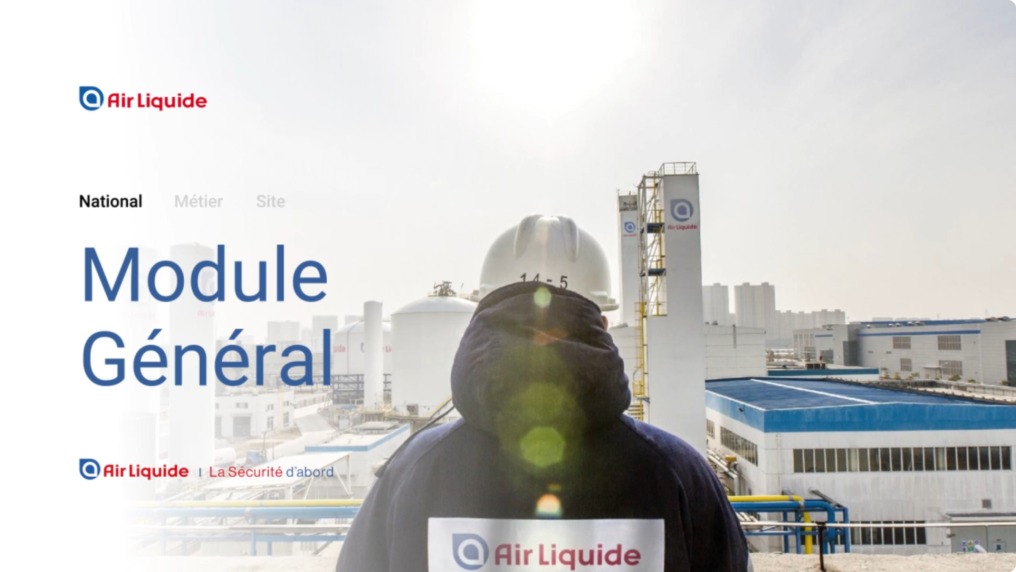 Air Liquide, module national